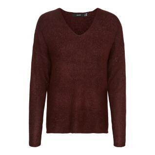 V-neck sweater for women Vero Moda vmcrewlefile