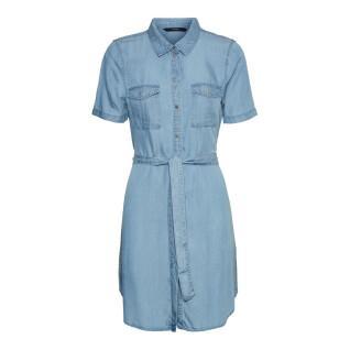 Women's short sleeve shirt Vero Moda vmsilja
