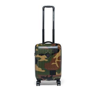 Suitcase Herschel trade carry on woodland camo/vermillion