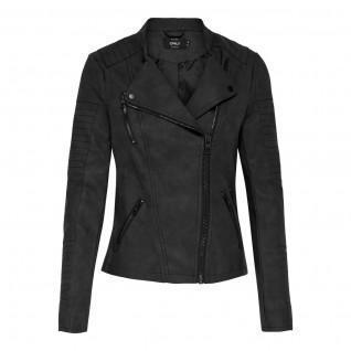 Women's jacket Only Ava imitation cuir biker