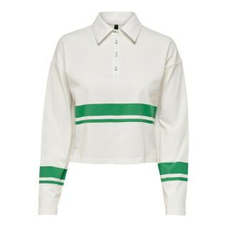 Women's long sleeve polo shirt Only onllima