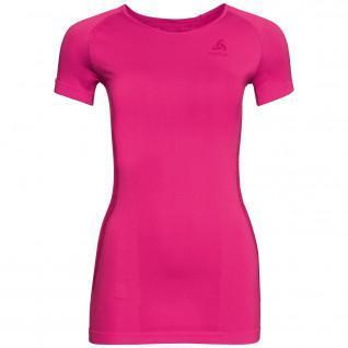 Women's T-shirt Odlo s/s crew neck Essentials Seamless Warm