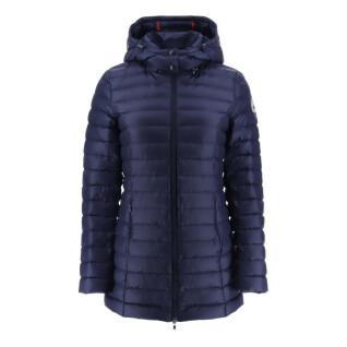 Women's hooded jacket Jott Nour Mi-long Basic