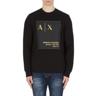 Sweatshirt round neck Armani Exchange 6KZMDB-ZJ6PZ noir