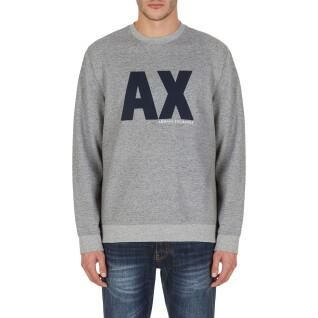 Sweatshirt round neck Armani Exchange 6KZMFG-ZJ5UZ gris