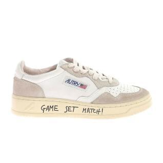Women's sneakers Autry 01 write crack low mom