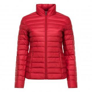 Women's down jacket Jott Cha Basic rouge