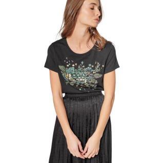 Women's short-sleeved printed T-shirt Le temps des cerises Frankie