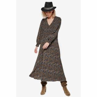 Long dress with floral pattern Le Temps des cerises peak