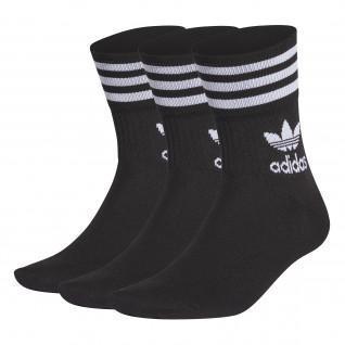 Set of 3 pairs of mid-rise socks adidas Originals