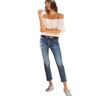 Women's boyfit jeans Le temps des cerises Sea 200/43