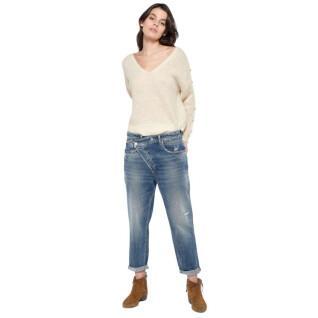 Women's boyfit jeans Le temps des cerises Cosy