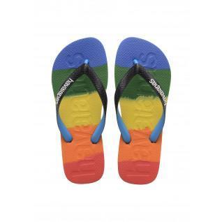 Flip-flops Havaianas Top Logomania Multicolor Rainbow