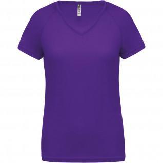 Women's v-neck T-shirt Proact Sport