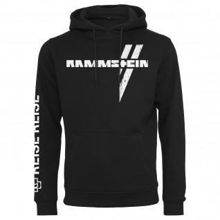 Sweatshirt with hood Rammstein rammstein weißes kreuz