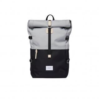 Backpack Sandqvist Bernt Multi Grey/Black