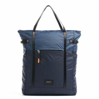 Backpack Sandqvist Roger Lightweight Multi Navy blue