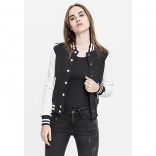Jacket woman Urban Classic 2-tone college sweatshirt