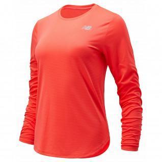 Women's long sleeve jersey New Balance accelerate